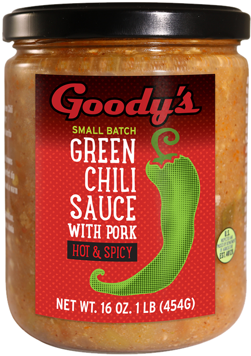 Goodys Hot & Spicy Green Chili with Pork