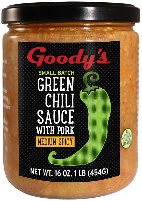 Goodys Medium Spicy Green Chili with Pork